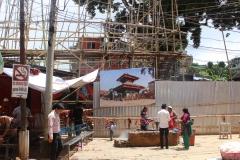 Mankamana after quake